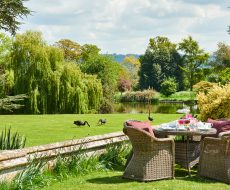 Lawns at Dumbleton Hall